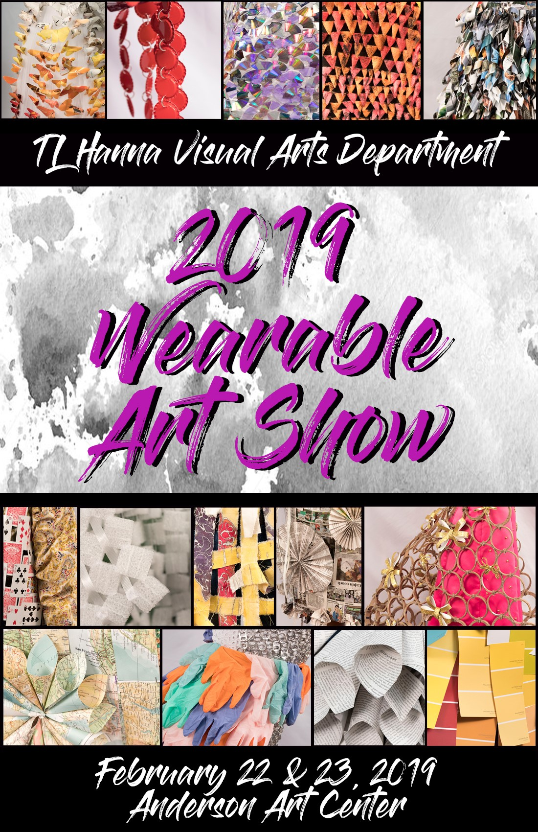 TL Hanna Wearable Art Show | Anderson Arts Center